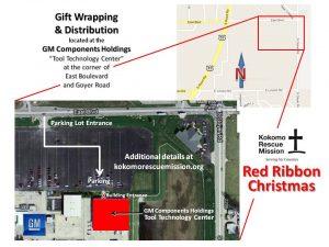 KRM Red Ribbon Christmas - GMCH Map